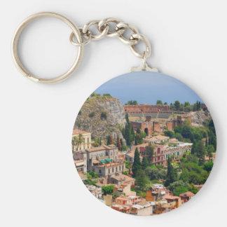Taormina amphitheater 4 keychain