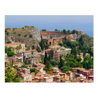 Taormina amphitheater 4 postcard