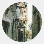 Taormina Classic Round Sticker