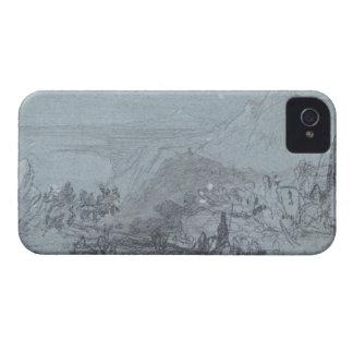 """Taormina, de """"vistas de Sicilia"""" (tiza y aguazo iPhone 4 Cobertura"""