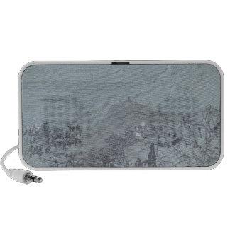 Taormina, from 'Views of Sicily' (chalk & gouache Portable Speaker