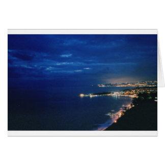 Taormina, Sicilia, Italia Tarjeta De Felicitación