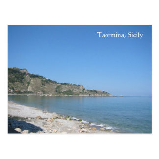 Taormina, Sicily Postcard