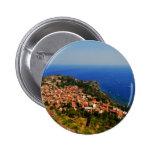 Taormina view 2 2 inch round button