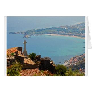 Taormina view 3 card