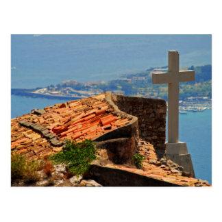 Taormina view 4 post card