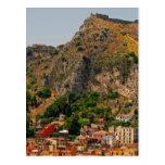 Taormina view 5 postcard