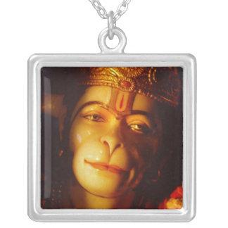 TAOS%20Hanuman%20clsoeup Silver Plated Necklace