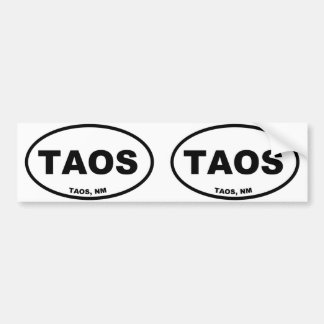 Taos Bumper Sticker