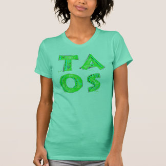 Taos Fiesta Green T-Shirt