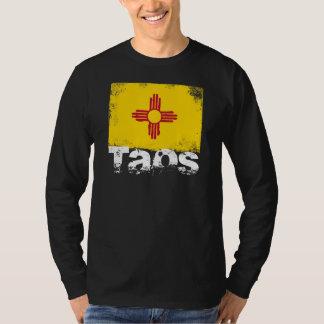 Taos Grunge Flag T-Shirt