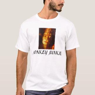 TAOS Hanuman clsoeup, MONKEY JUNKI... - Customized T-Shirt