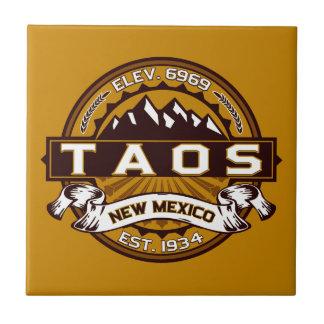 Taos Logo Tile