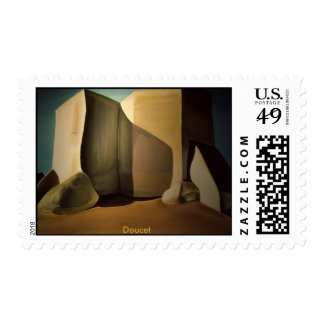 Taos Mission painting Postage Stamp