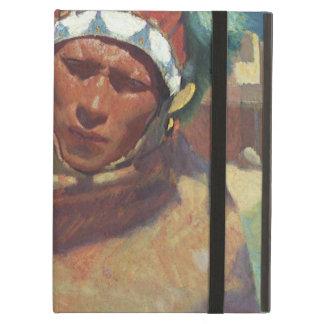 Taos Native American Indian Portrait, Blumenschein iPad Air Cover