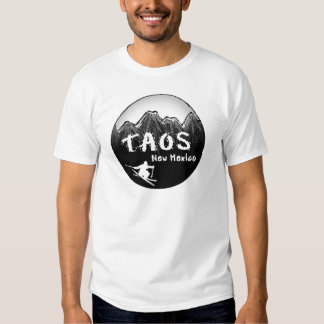 Taos New Mexico artistic skier T-Shirt