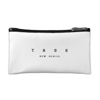 Taos New Mexico Cosmetic Bag