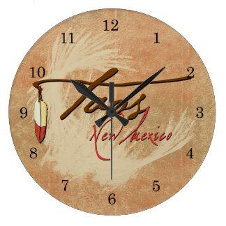 Taos, New Mexico Wall Clock