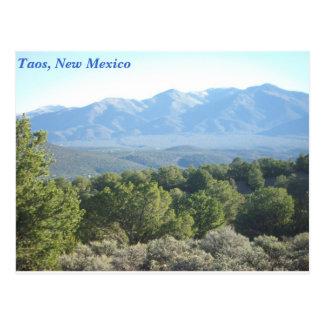 Taos, New México Postal