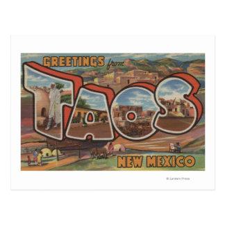 Taos, nueva letra ScenesTaos, nanómetro 2 de Postales