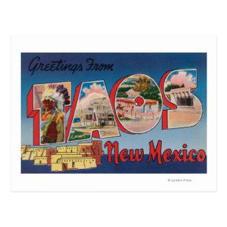 Taos, nueva letra ScenesTaos, nanómetro de Postales