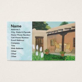 Taos Patio ~ Landscape Business Card
