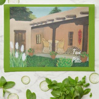 Taos Patio ~ Landscape Kitchen Towel