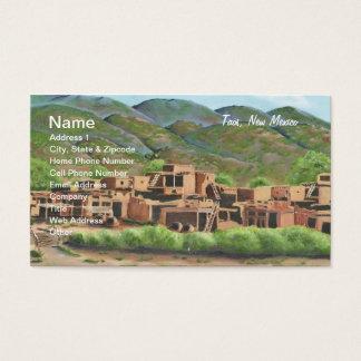 Taos Pueblo, New Mexico Business Card