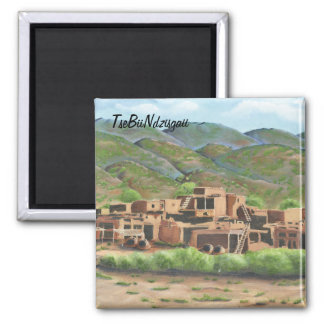 Taos Pueblo, New Mexico Magnet