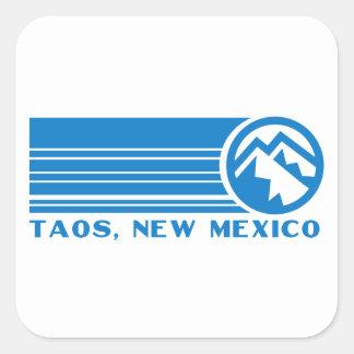 Taos Ski Valley, New Mexico Square Sticker