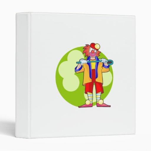 Tap Clown Binder