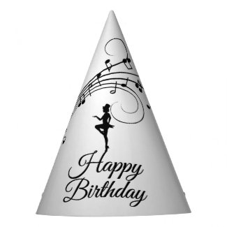 Tap Dance 3 Birthday Party Hat