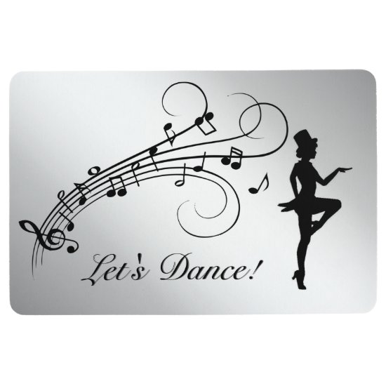 Tap Dance 3 Floor Mat