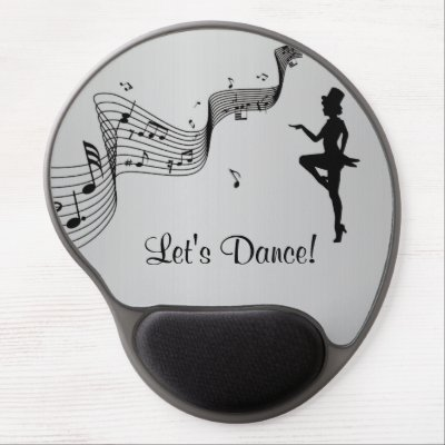 Tap Dance 3 Gel Mouse Pad