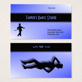 Tap Dance Business Card