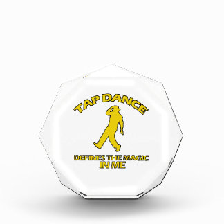 tap DANCE DESIGNS Acrylic Award