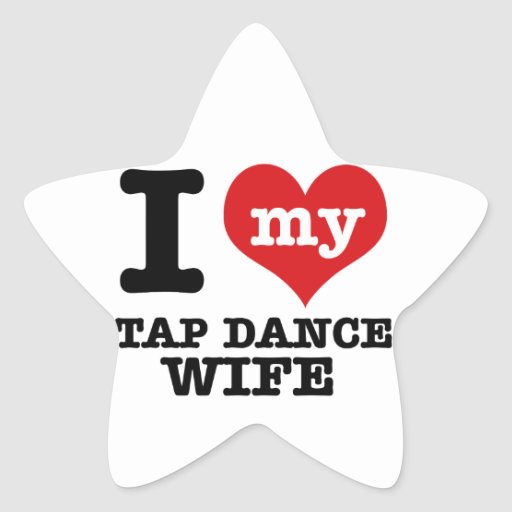 Tap Dance wife Stickers