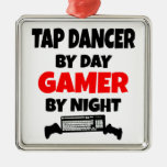 Tap Dancer by Day Gamer by Night Ornament