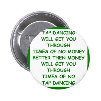 tap dancing pin