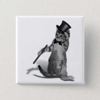 Tap Dancing Cat Button