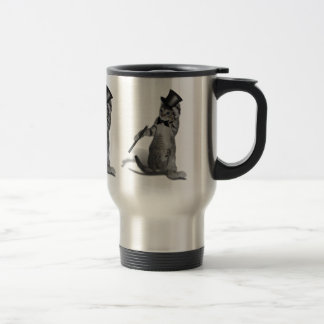 Tap Dancing Cat Coffee Mug