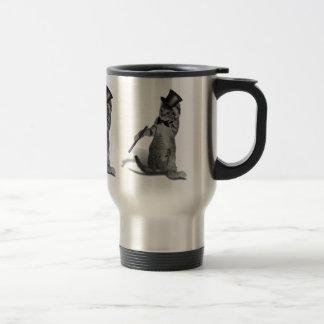 Tap Dancing Cat Travel Mug