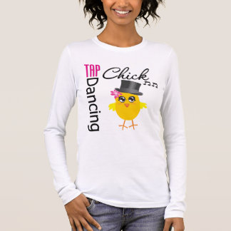 Tap Dancing Chick 2 Long Sleeve T-Shirt
