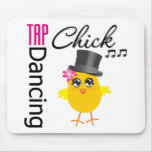 Tap Dancing Chick 2 Mouse Pad