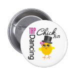 Tap Dancing Chick 2 Pins