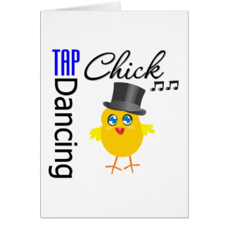 Tap Dancing Chick 3 Card