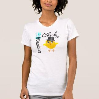 Tap Dancing Chick 5 Tee Shirts