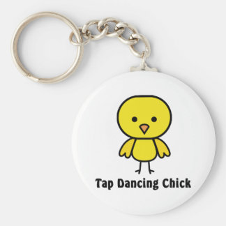 Tap Dancing Chick Keychains
