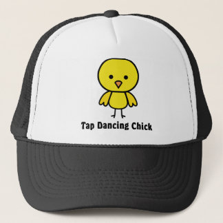 Tap Dancing Chick Trucker Hat