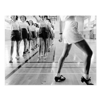 Tap Dancing Class, 1942 Postcard